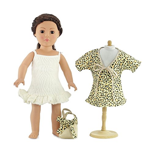 "18 Inch Doll Movie Star 50's Bathing Suit Dress | Fits 18"" American Girl Dolls 
