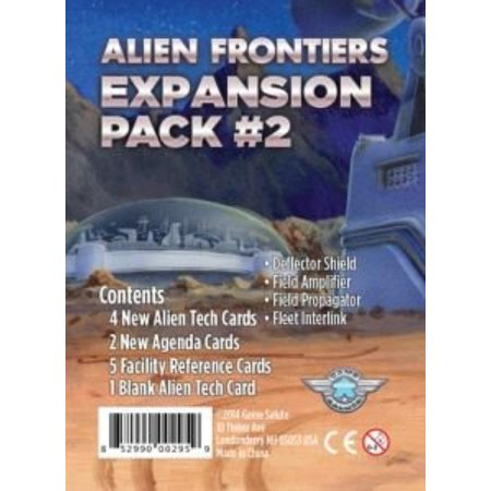 Alien Frontiers Expansion Pack 2 Role-Playing Interactive Board Game Salute GSUH1009 ()
