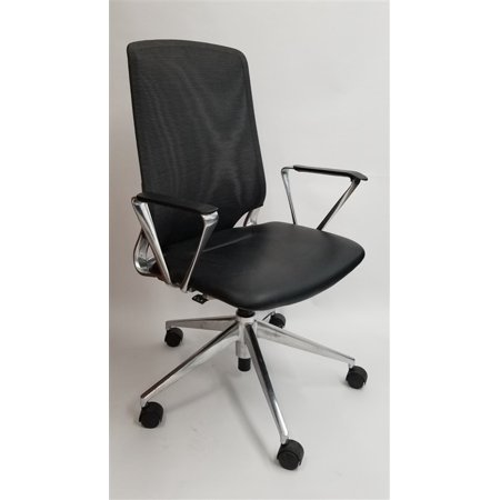 Vitra Meda Office Task Chair With Mesh Backrest Executive