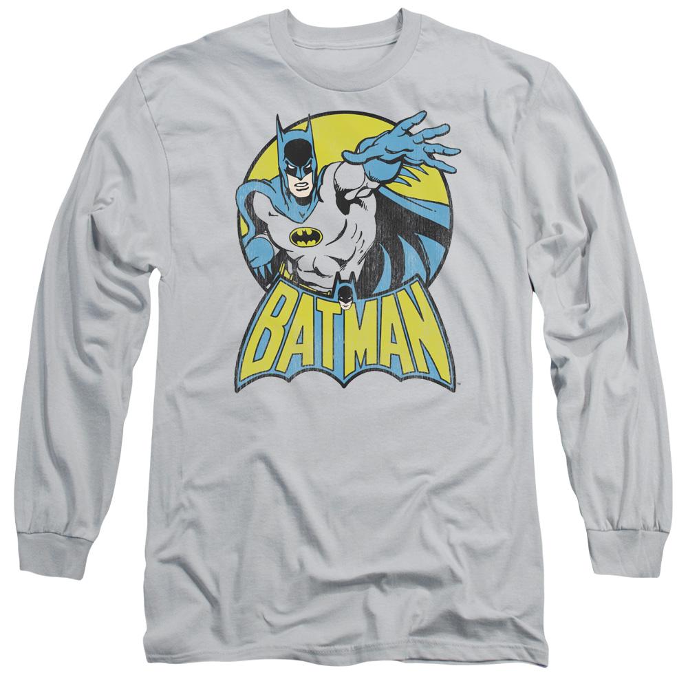 Trevco DC Comics Batman Adult Long Sleeve T-Shirt Tee