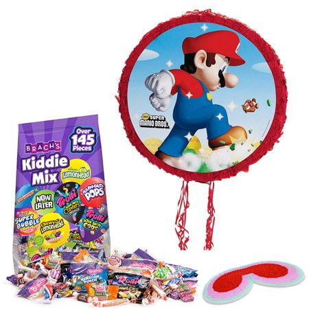 Super Mario Bros. Pull-String Pinata Kit