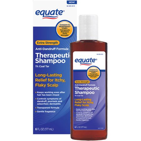 equate Extra Strength shampooing antipelliculaire thérapeutique, 6 Oz Fl