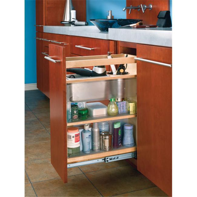 Rev-A-Shelf RS445. VCG25. 8 25. 5 inch H Grooming Organizer