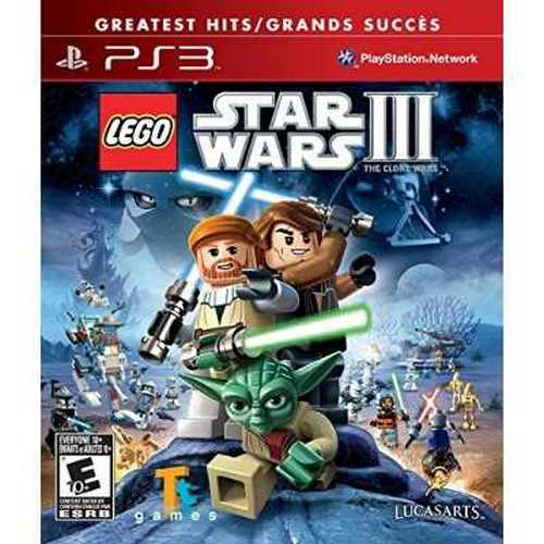lego star wars iii: the clone wars (ps3) - walmart