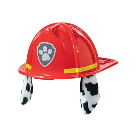 Paw Patrol Marshall Deluxe Hat Plastic Fabric Firedog Firefighter