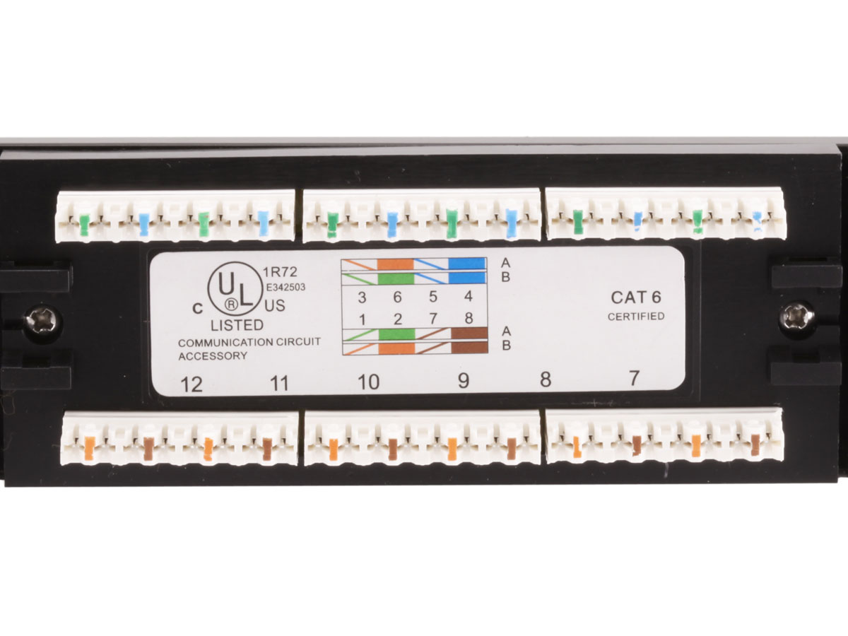 Monoprice 24 port cat6 patch panel 110 type 568ab compatible monoprice 24 port cat6 patch panel 110 type 568ab compatible walmart asfbconference2016