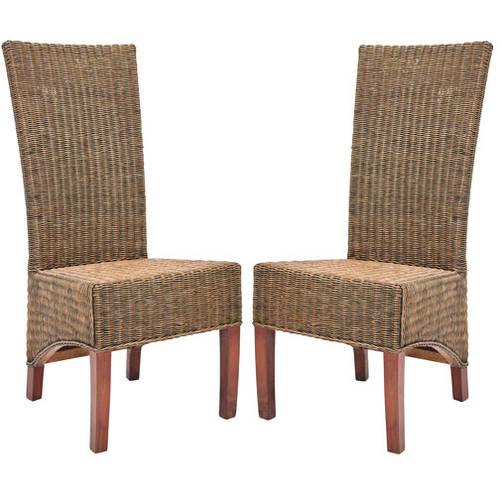 Safavieh Siesta Rattan Side Chair, Set of 2