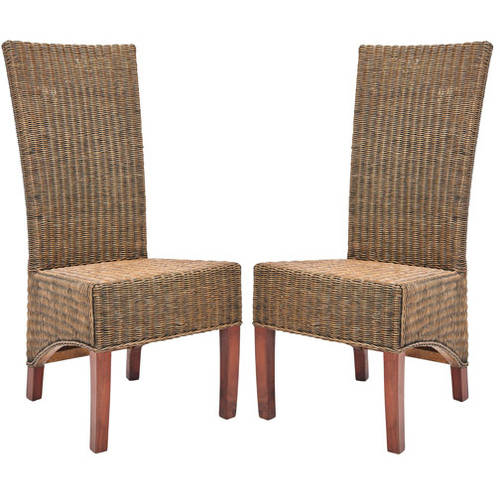 Safavieh Siesta Rattan Side Chair, Set of 2