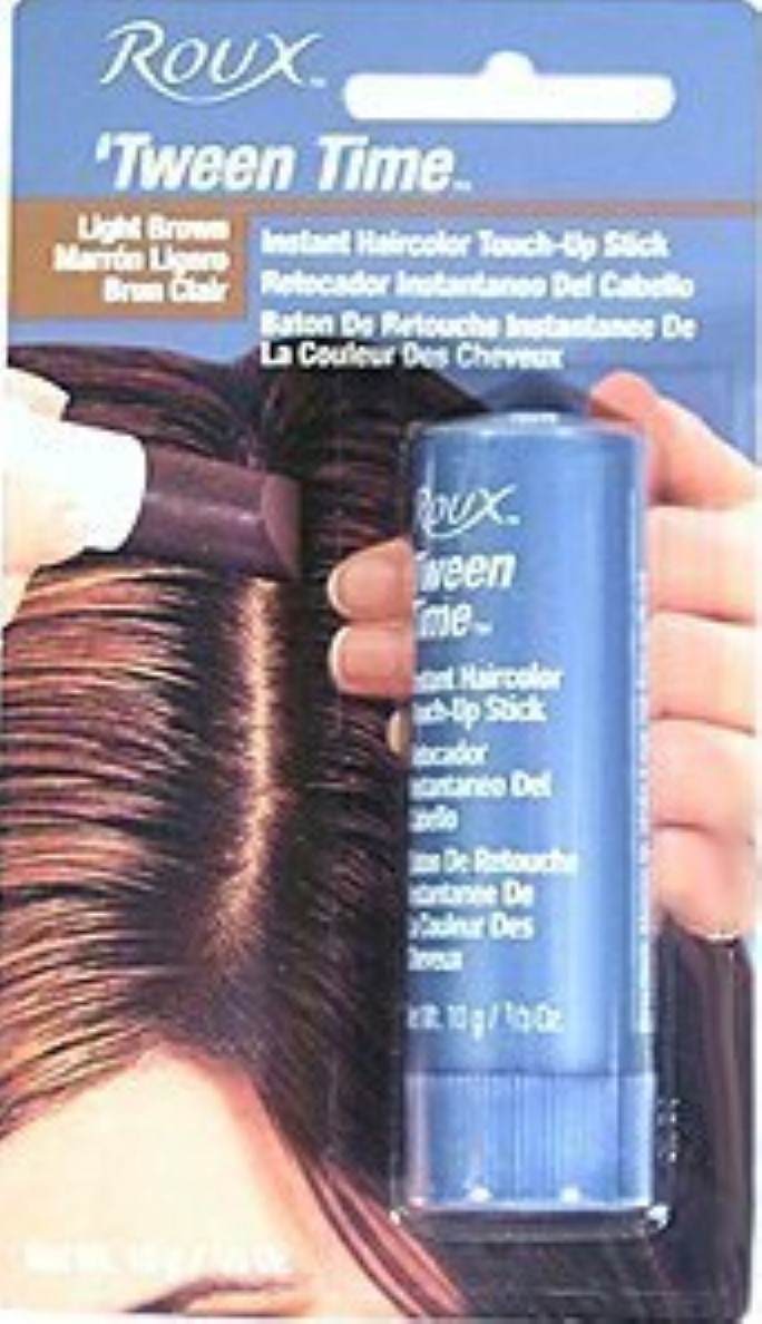 Roux Temporary Haircolor Touch Up Stick Light Brown 1 Ea Pack Of 3