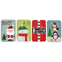 Christmas Gift Card Tin Holders (Set of 4)