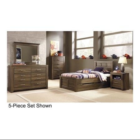 ashley juararo b251tpsbdmc2n 6 piece bedroom set with twin