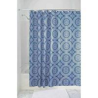 Product Image InterDesign Medallion Fabric Shower Curtain Various Sizes
