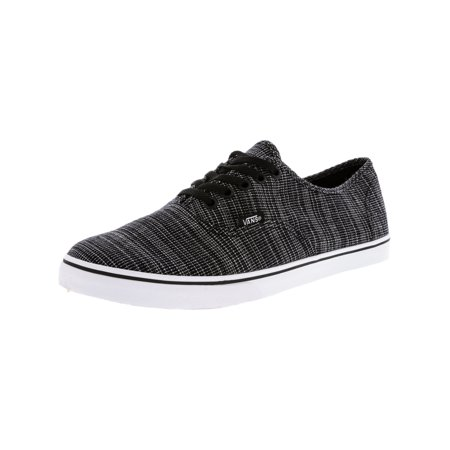 ad383ad27a Vans Authentic Lo Pro Woven Chambray Black Ankle-High Skateboarding Shoe -  9M   7.5
