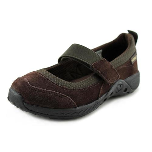Merrell Jungle Moc Sport Mary Jane Flat (Little Kid Big Kid),Brown,5 W US Big Kid by Merrell