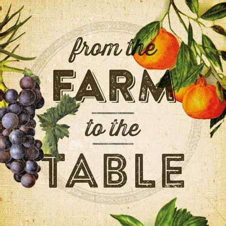 Portfolio Canvas Decor Farm To Table By Dallas Drotz Vintage Art - Farm to table dallas