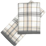 Decorative Hand Towels-package Of 2-plai