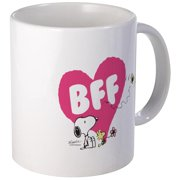 CafePress Snoopy And Woodstock Mug Unique Coffee Mug, Coffee Cup CafePress by