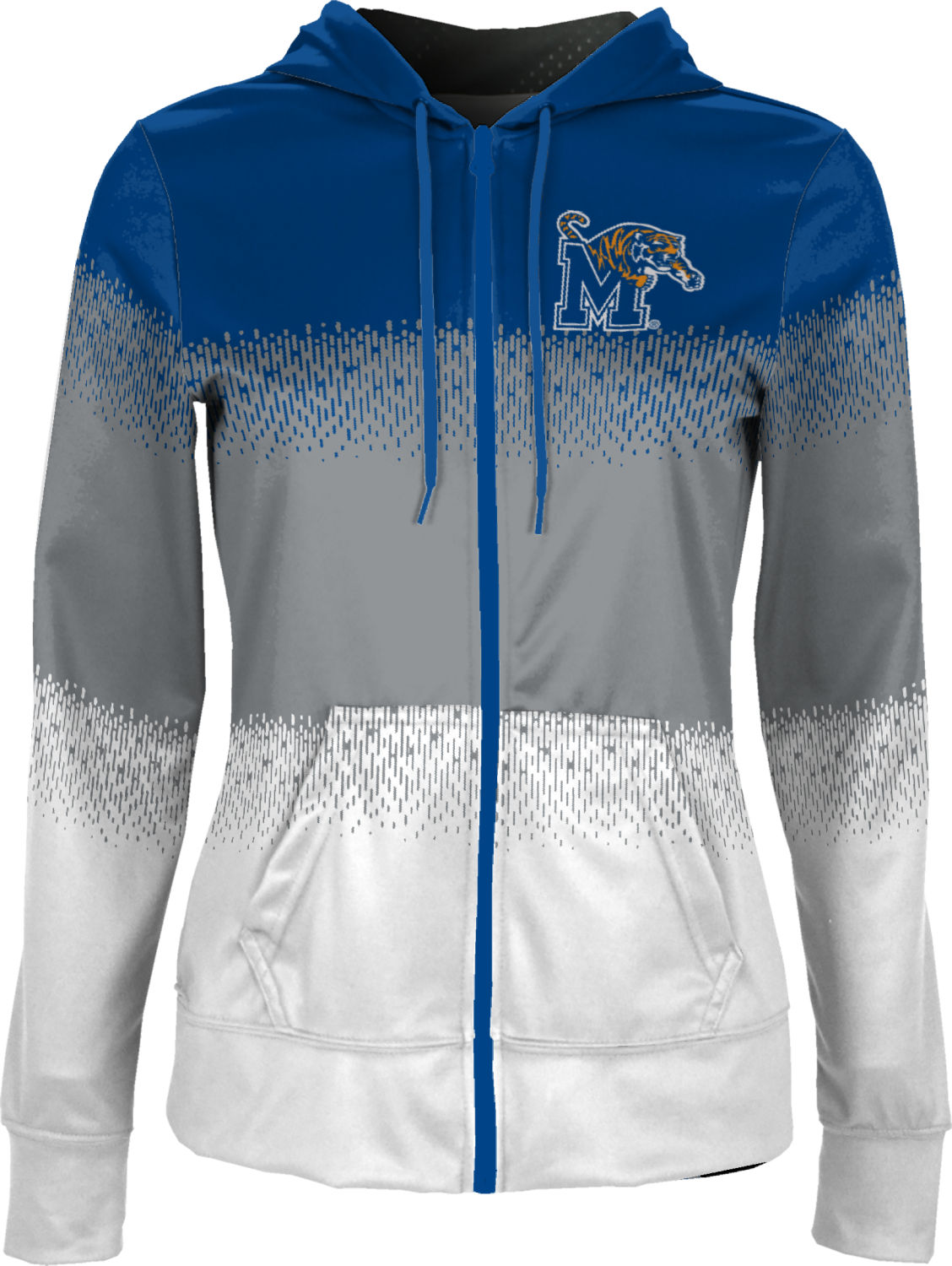 Ripple ProSphere University of Memphis Boys Full Zip Hoodie
