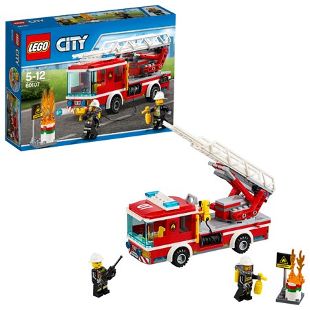 - LEGO City Fire Fire Ladder Truck 60107