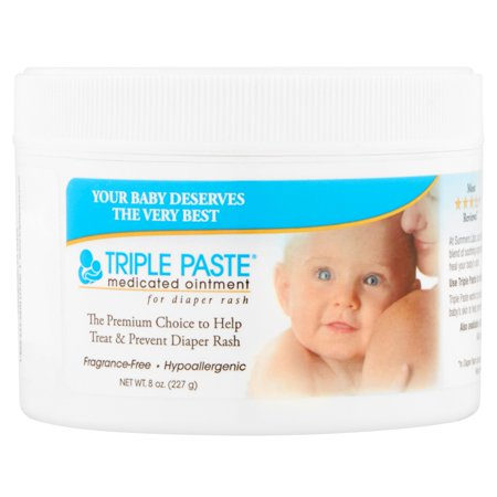 Triple Paste Medicated Ointment for Diaper Rash, 8 oz