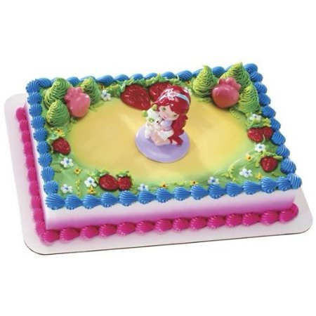 Brilliant Strawberry Shortcake Best Friends Cake Topper Set Walmart Com Personalised Birthday Cards Cominlily Jamesorg