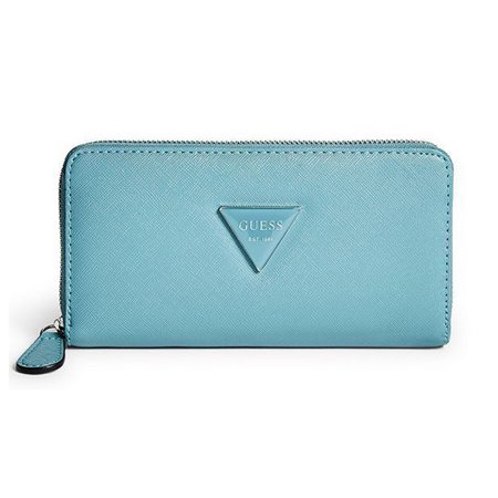 Guess Abree Zip Around Wallet Guess Designer Wallet