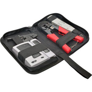 4-Piece Network Installer Tool Kit with Carrying