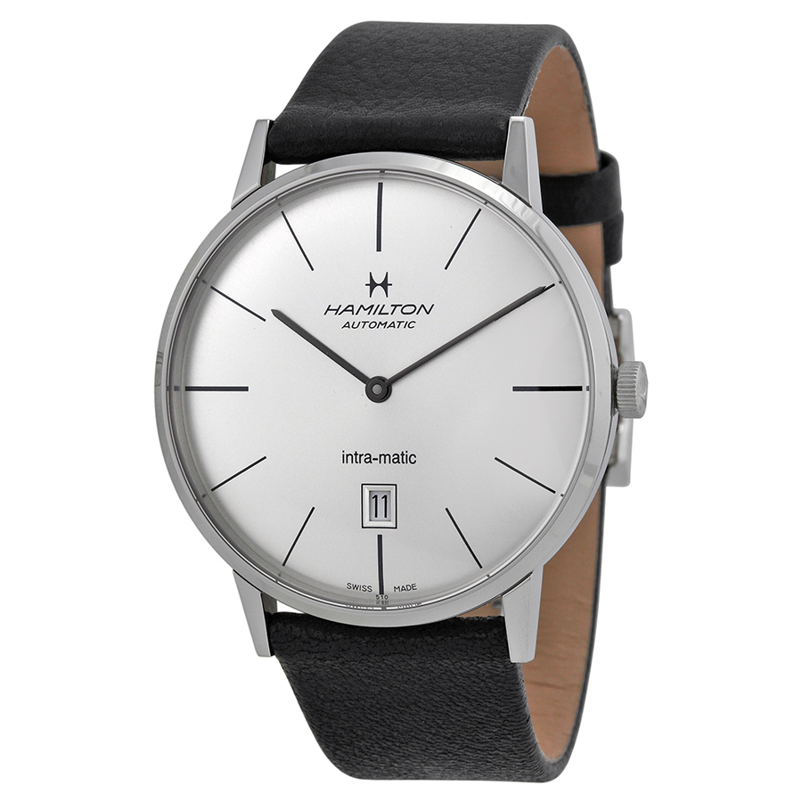 Hamilton American Classic Intra-Matic Silver Dial Mens Watch H38755751 by Hamilton