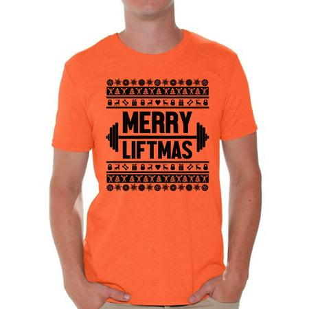 0c7c94a4f Awkward Styles Merry Liftmas Christmas Shirt Merry Christmas Tshirts for  Men Lifting Shirt Gym Training Christmas Holiday Shirt Workout Top Liftmas  Shirts ...