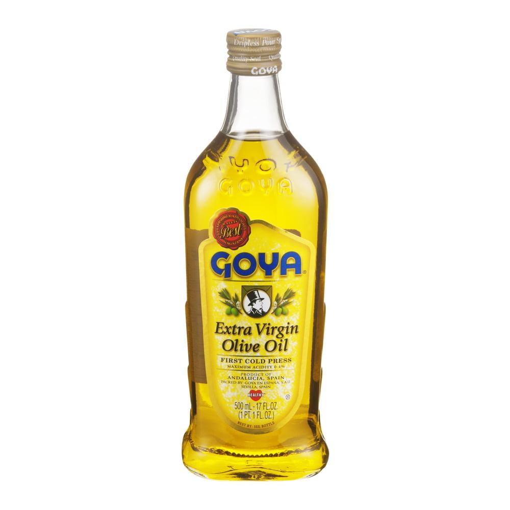 Goya Extra Virgin Olive Oil First Cold Press 17 FL oz