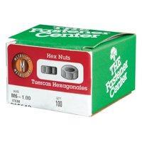 Hillman 915513 M6-1.00 Metric Hex Nut  100 per Box