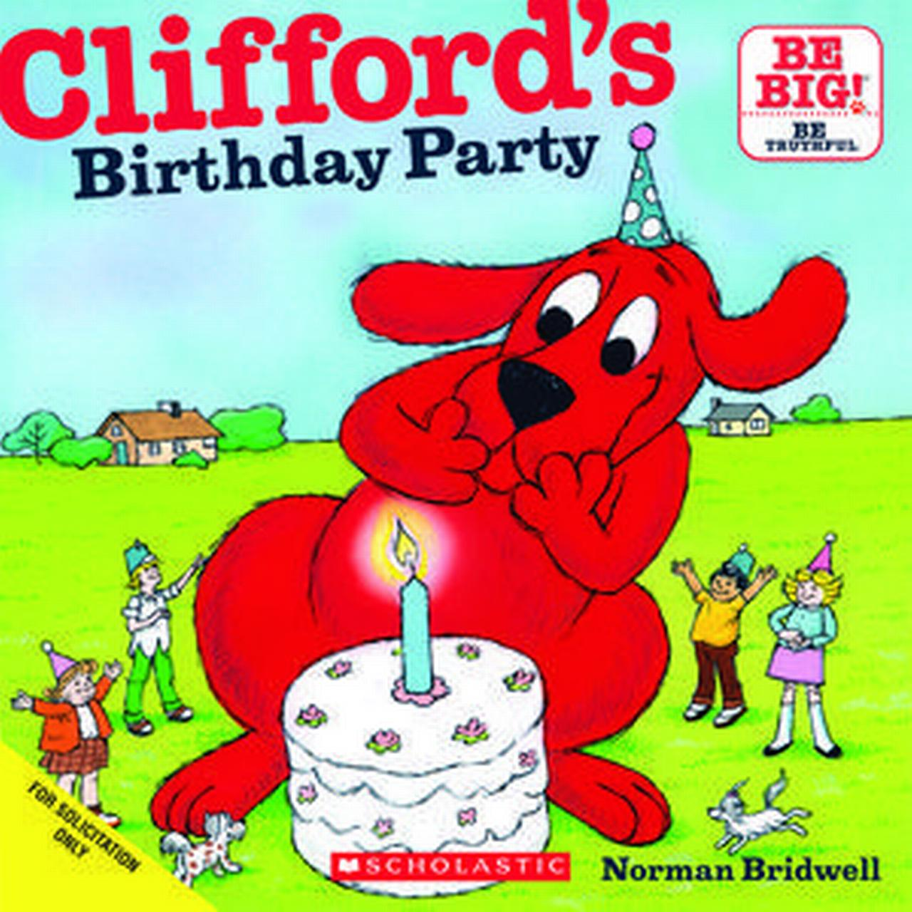 Clifford's Birthday Party - Audiobook