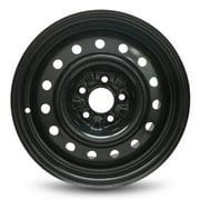 """Road Ready 16"""" Steel Wheel Rim for 13-18 Nissan Altima 16x7 inch 5 Lug Black"""