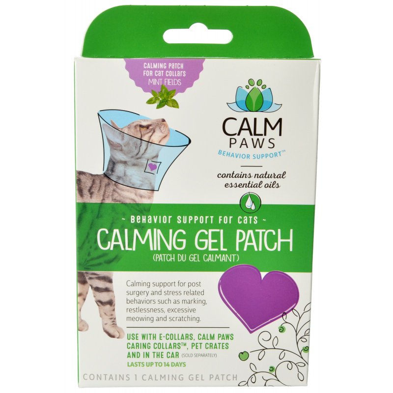 Calm Paws Calming Gel Patch for Cat Collars - 1 Count