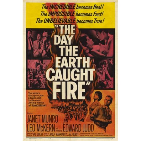 Posterazzi MOVEF5414 The Day the Earth Caught Fire Movie Poster - 27 x 40 in. - image 1 de 1