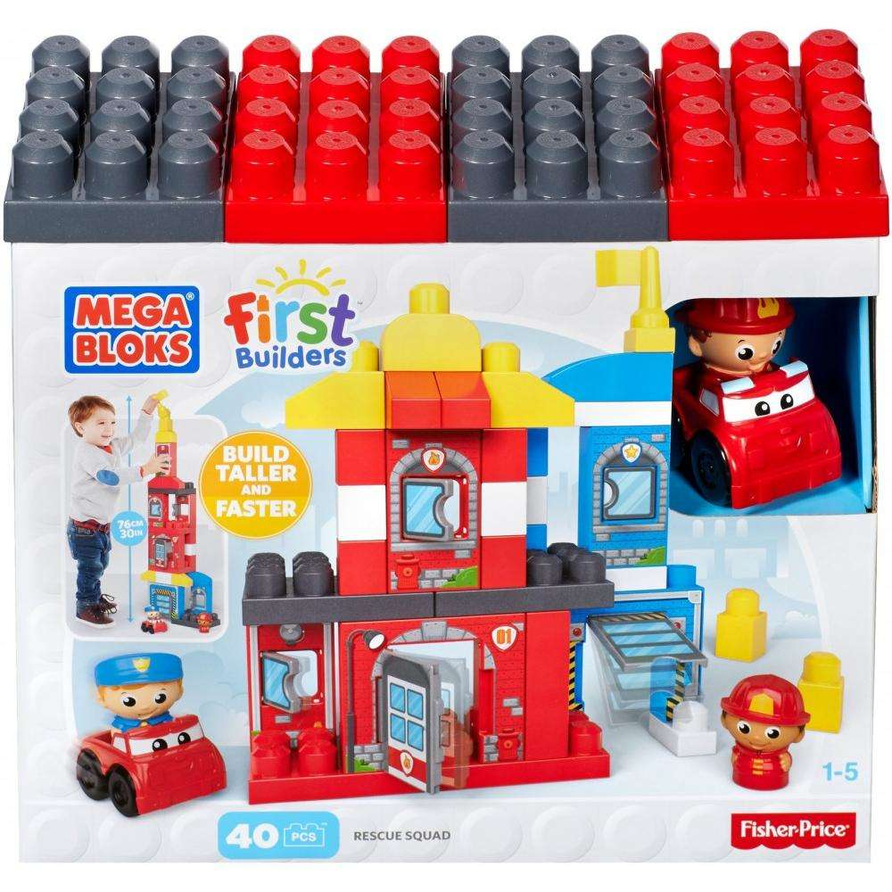 Mega Bloks First Builders Rescue Squad