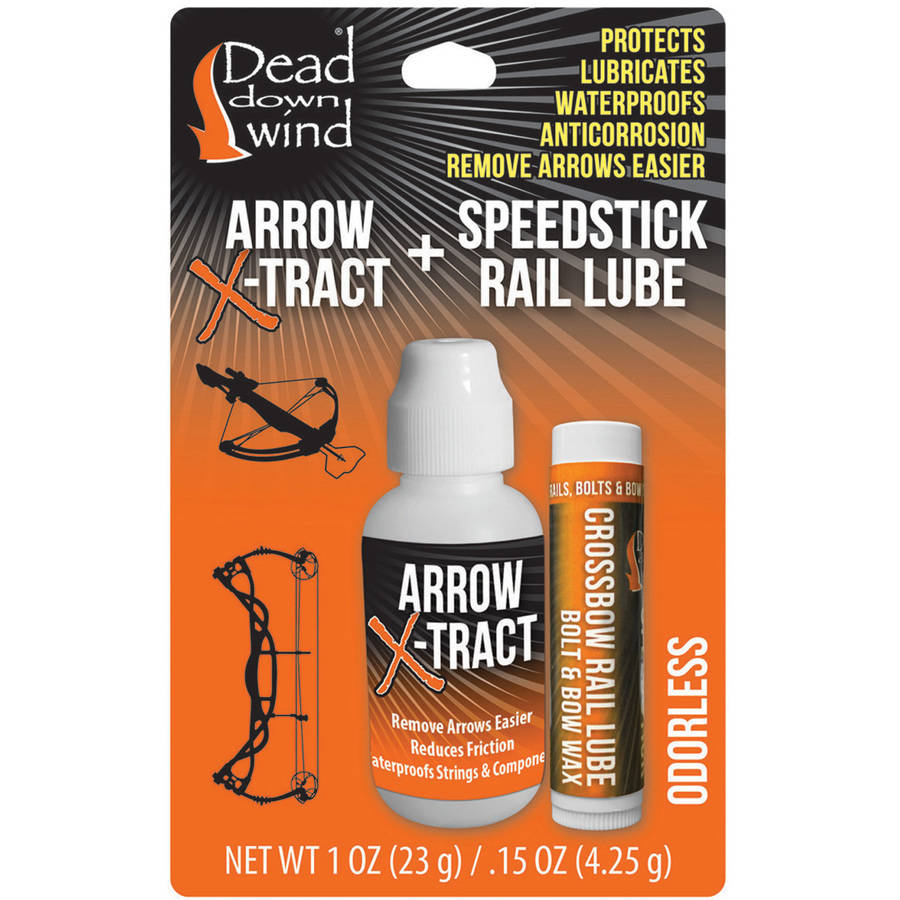 Dead Down Wind Arrow Xtract and Lube Combo
