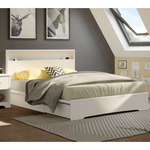 South Shore Basic Queen Storage Platform Bed by South Shore