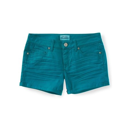 Aeropostale Juniors Bright Y Casual Denim Shorts 141 1/2 - Juniors - image 2 of 2