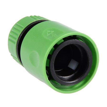 Unique Bargains 1/2BSP Garden Faucet Water Pipe Adapter Tap Hose Quick Connector Green 5pcs - image 5 de 6