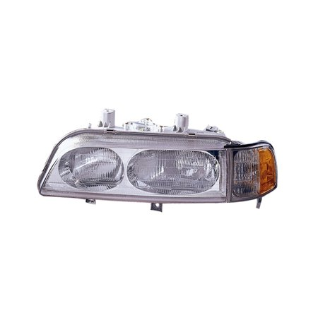 Replacement Driver Side Headlight For 91-95 Acura Legend 33150SPOA03  33150SPOA04