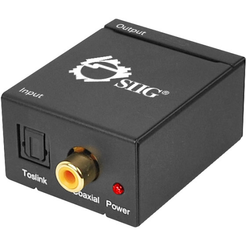 Siig, Inc Digital to Analog Audio Converter CE-CV0011-S1