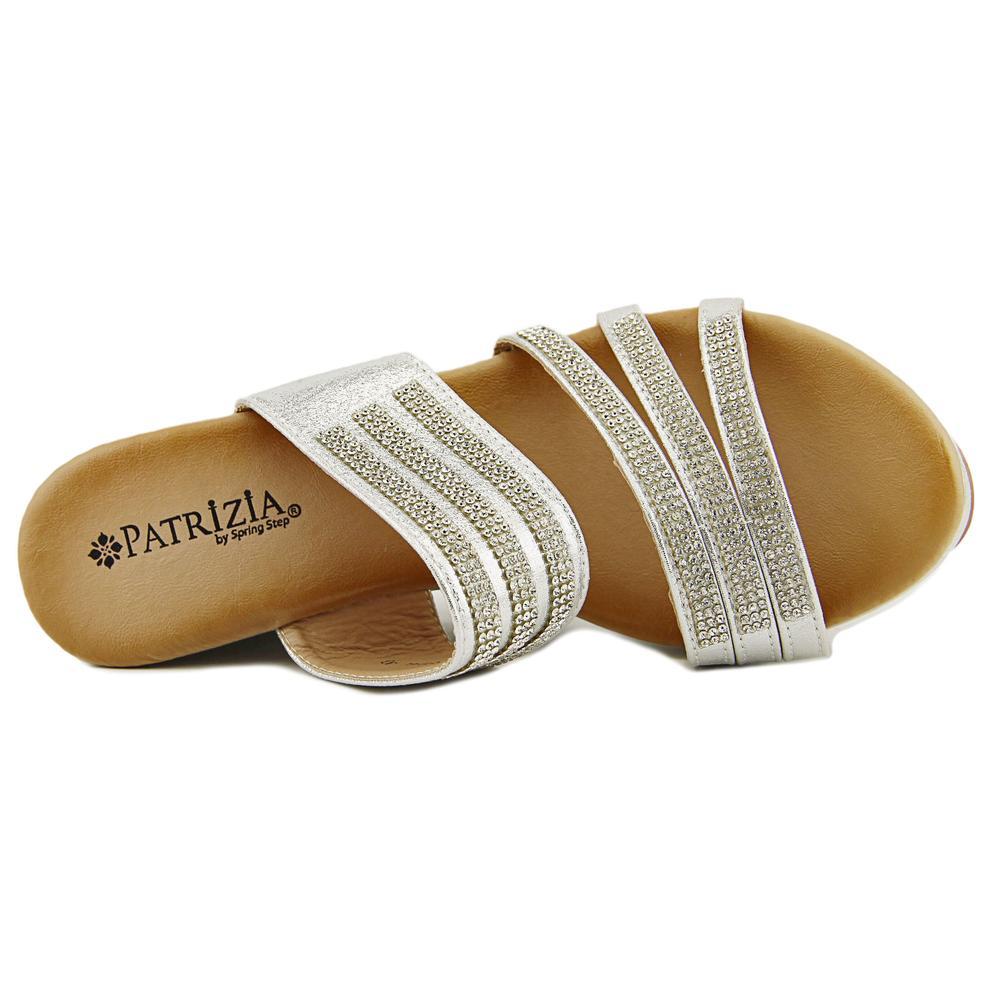 95c4143571b PATRIZIA BY SPRING STEP - Patrizia By Spring Step Halogen Women Open Toe  Synthetic Wedge Sandal - Walmart.com