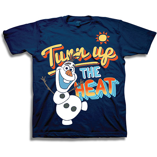 "Disney Frozen Olaf Toddler ""Turn up the Heat"" T Shirt (2T)"