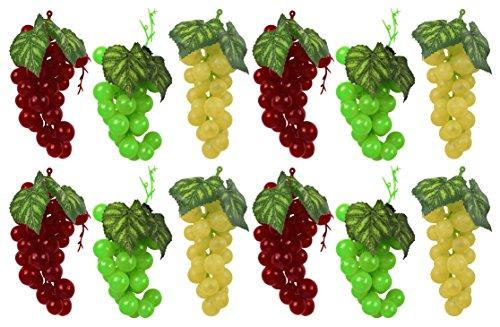 Yellow 3 x 3 x 4.5 Flora Craft SimpleStyle Artificial Verduras Green