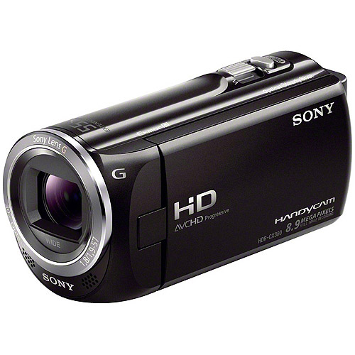 Sony HDR-CX380/B High Definition Handycam Camcorder