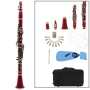 moobody Trumpet Bb B Flat Silver-plated Brass Exquisite with Mouthpiece Cleaning Brush Cloth Gloves Strap