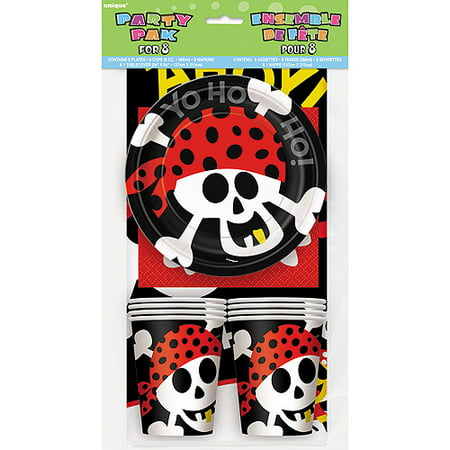 Pirate Party Tableware Kit for - Party City Pirates