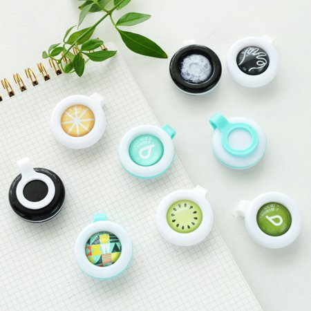 Sawyer Permethrin Clothing Insect Repellent - Coxeer All Natural Mosquito Repellent Clip Insect Repellent Clip Mosquito Repellent Buckle Cute Button for Baby Kids Adult Pets Clothing