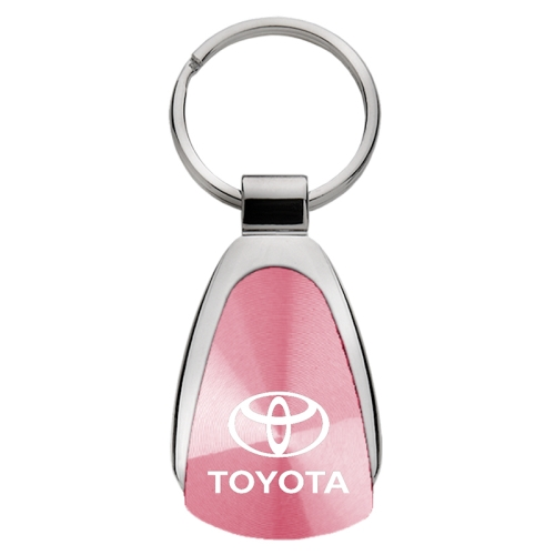 Dodge Dakota Red Tear Drop Key Chain Metal Key Ring Fob Lanyard